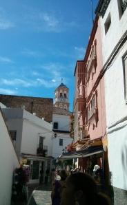 Street scene, old Marbella