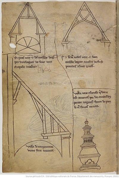 400px-Villard_de_Honnecourt_Album_de_..._charpente._BNF